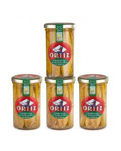 Ortiz makrillfiléer i olivolja EKO (4-pack)