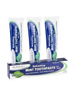 Tandkräm utan fluor EKO (4-pack)