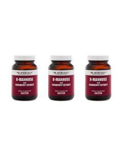 D-Mannose med tranbärsextrakt (3-pack)