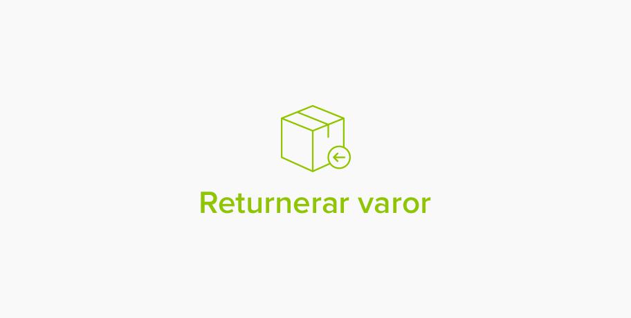 Returnerar varor