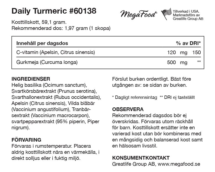 Daily Turmeric