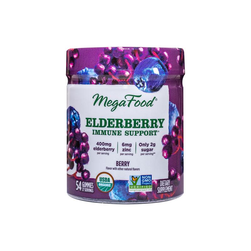 Gummy Elderberry Immune Support – Fläderbär